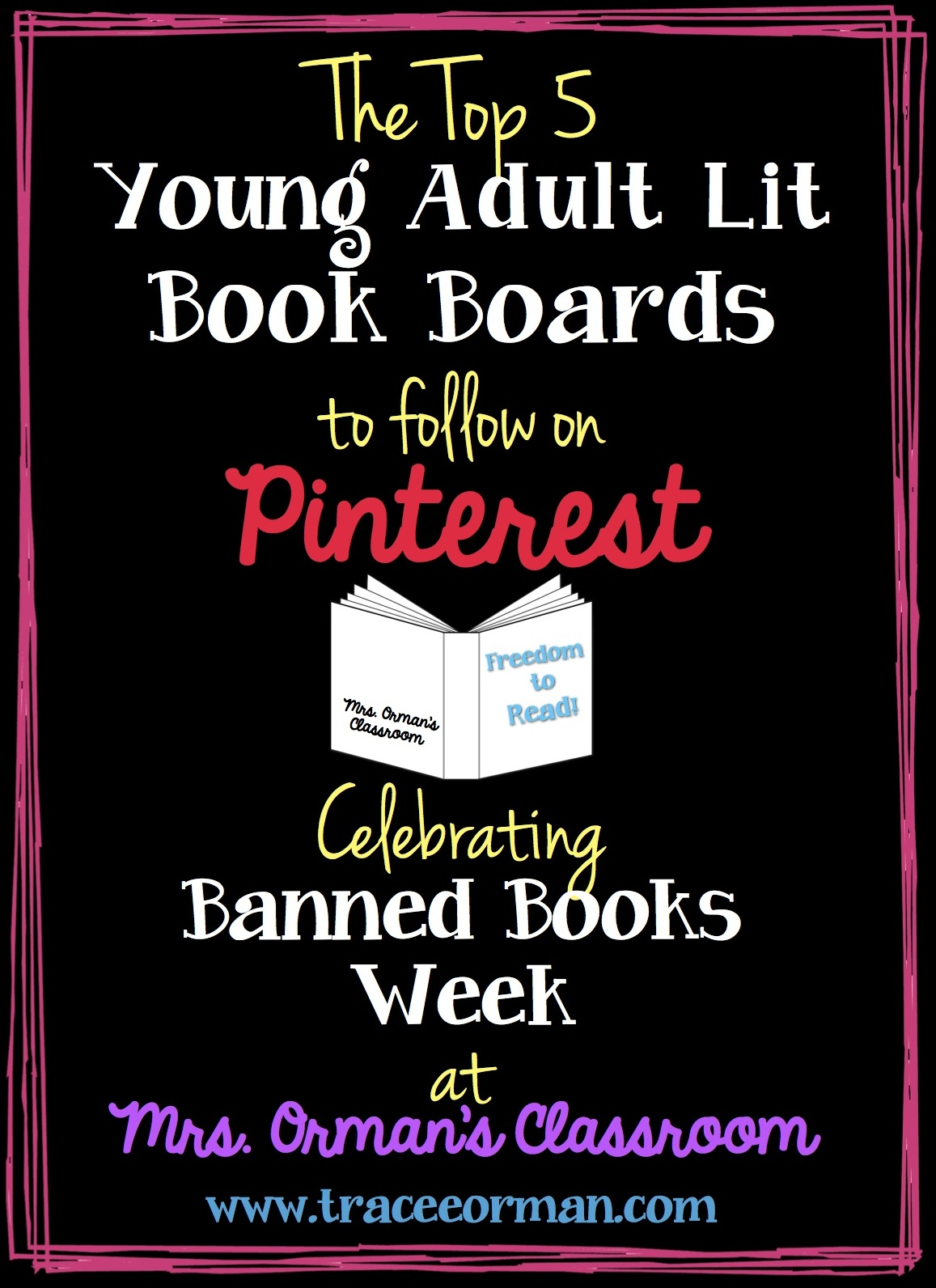 The Best Pin Boards on Pinterest for Young Adult Books