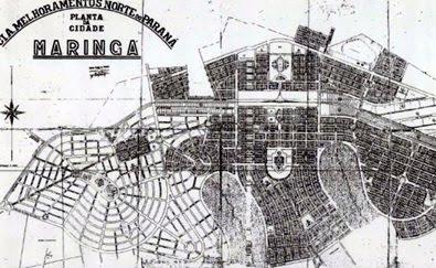 """Historia & Teoria: """"A Cidade de Maringá, PR. O Plano Inicial e as 'Requalificações Urbanas'"""""""