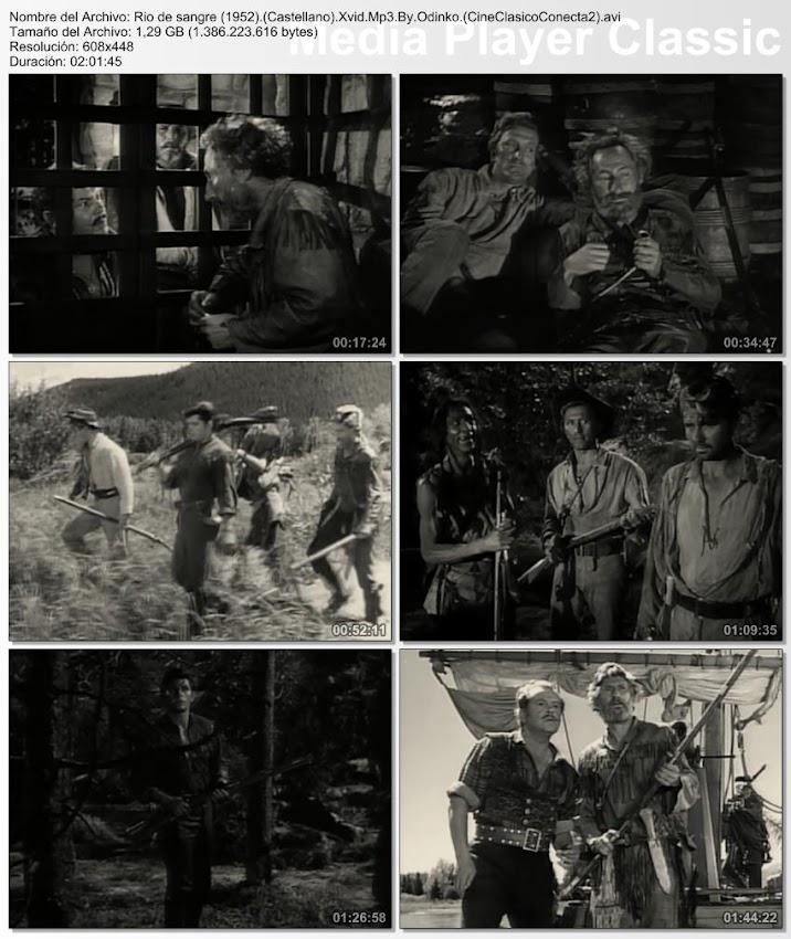 Secuencias | Río de sangre | 1952 | The Big Sky | Imágenes de la película