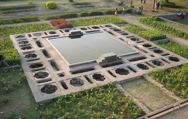 The Garden inside Shaniwarwada Fort