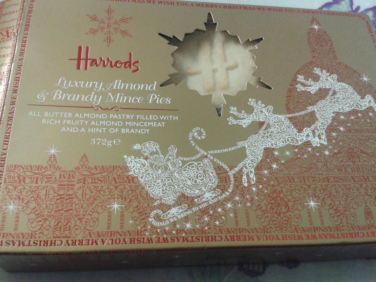 Harrods Mince Pie Review Box