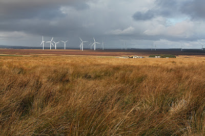 Causeymire Windfarm, Scotland CC Image courtesy of Shandchem on Flickr