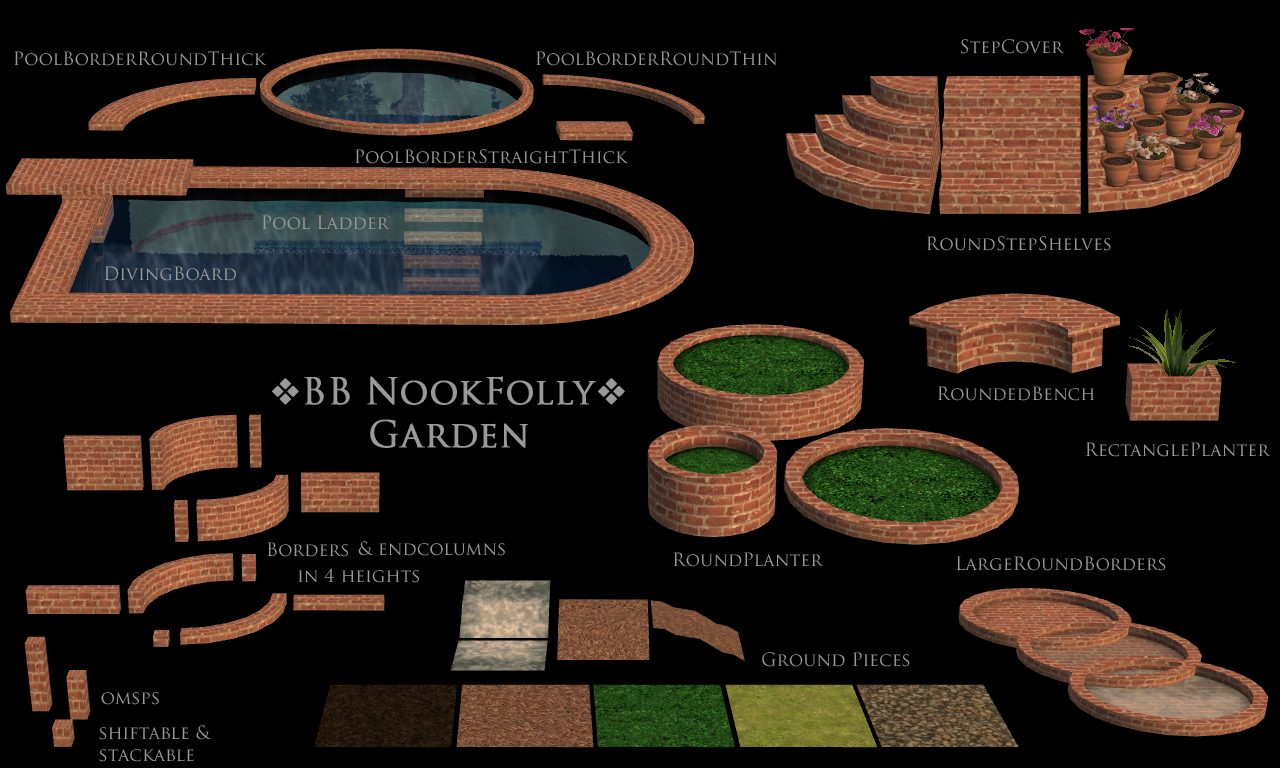 Buggy's retreat: Nook Folly Garden