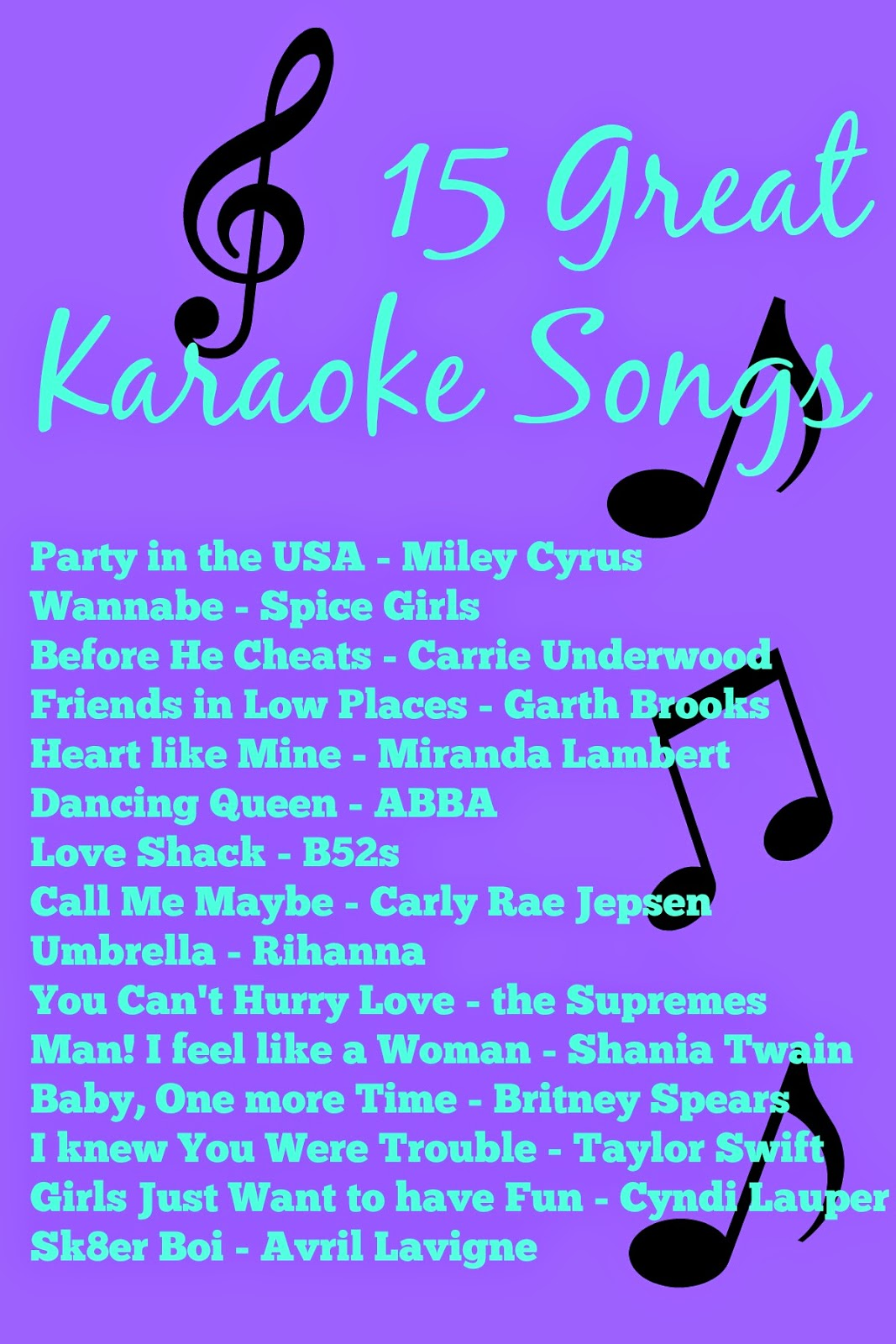 female karaoke songs, southern blogs, mississippi blogs, female bloggers,