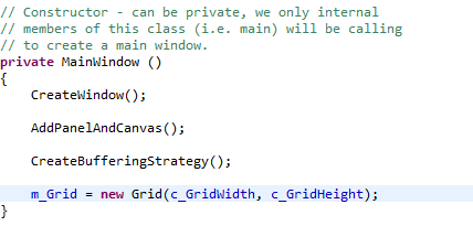 how to write a game with java
