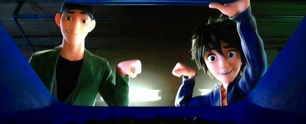 Hiro y Tadashi