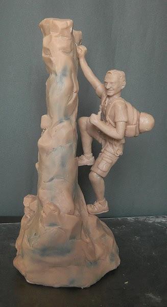 statuine personalizzate laurea sculture artigianali arrampicata alpinismo orme magiche