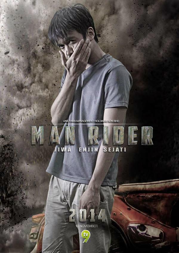 Telemovie Man Rider Guna Teknik Computer Graphic Image