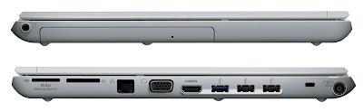 Sony VAIO VPCYB33KX/S Specs