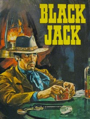 Blackjack Vintage Film Poster 1968