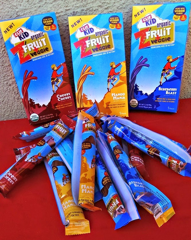 CLIF Kid ZFruit organic snacks