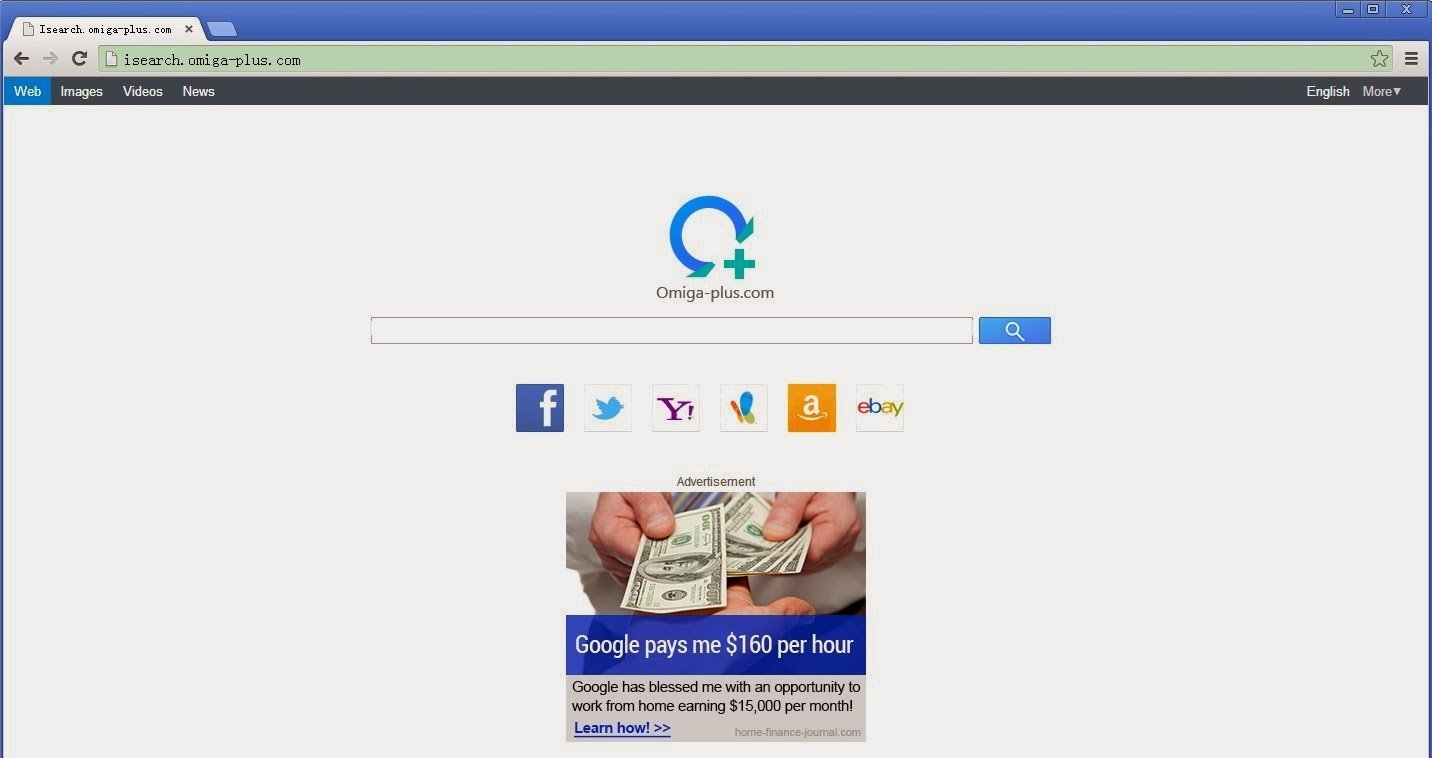 how to delete omiga plus search engine from firefox