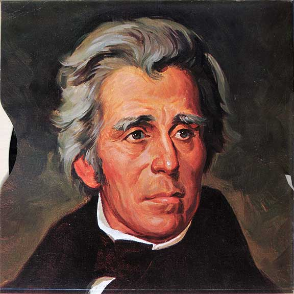 """andrew jackson a man of the Donald trump added a portrait of andrew jackson to the white  like trump,  jackson also styled himself as a champion of the """"common man,""""."""