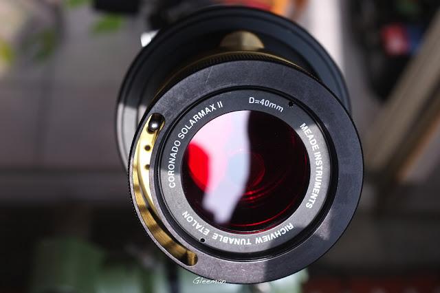Solarmax II 40 H-alpha filter 搭配Pentax 75SDHF 的接法