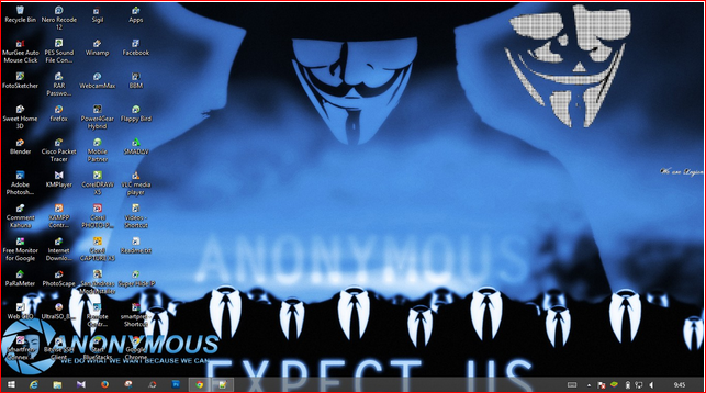 Download Tema Anonymous untuk Windows 7 / 8 / 8.1