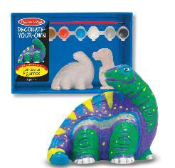 Melissa And Doug Paint Your Own Dinosaur Kit
