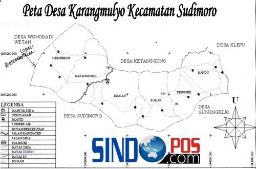 Profil Desa & Kelurahan, Desa Karangmulyo Kecamatan Sudimoro Kabupaten Pacitan