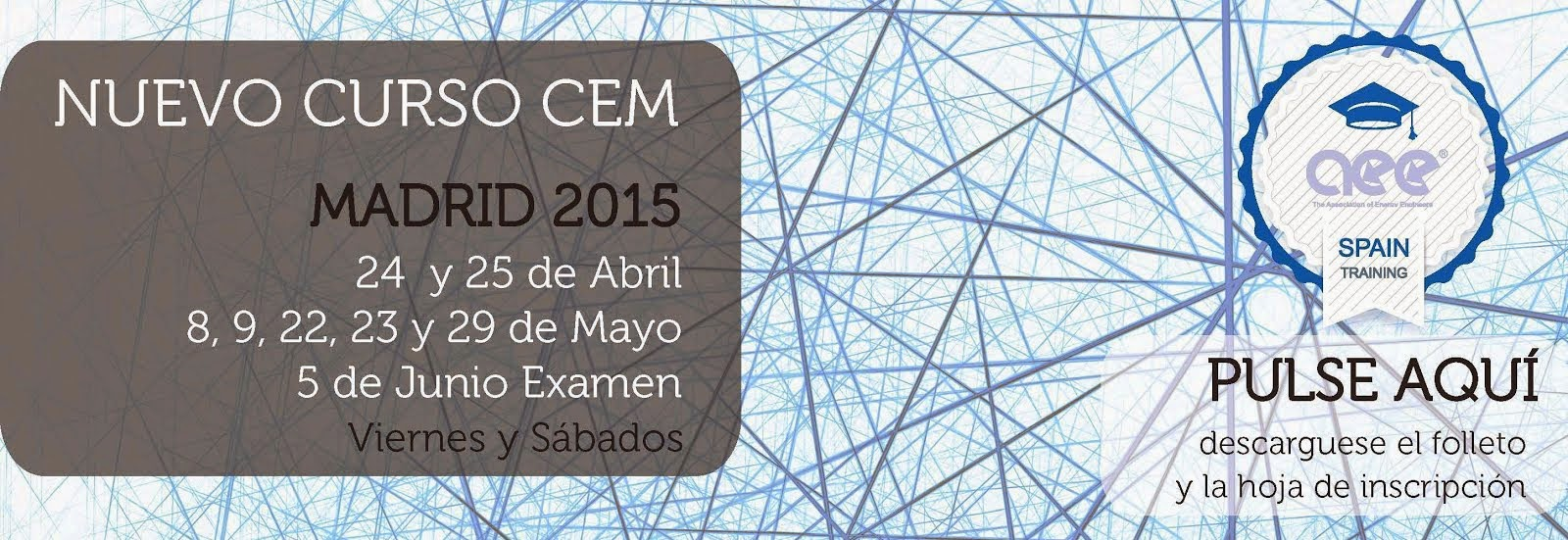 Curso CEM(R) Madrid Abril-Mayo 2015