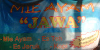 warung mie Ayam Jawa Ngariboyo Magetan