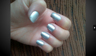 Barry M Instant Effects Silver Foil Nail Polish Varnish Paint