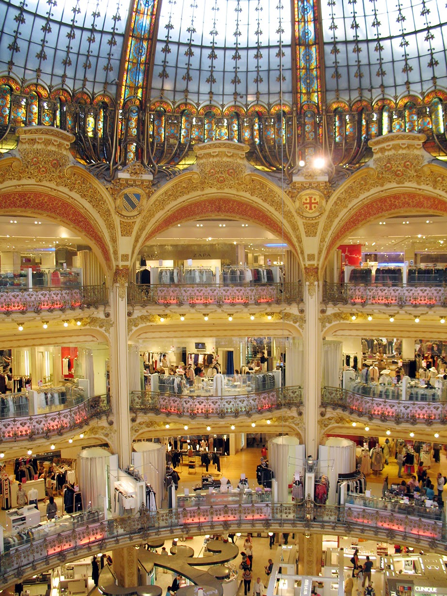 department store Galeries Lafayette, Paris