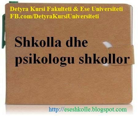 detyra kursi ese shkolle shkolla dhe psikologu shkollor rh eseshkolle blogspot com