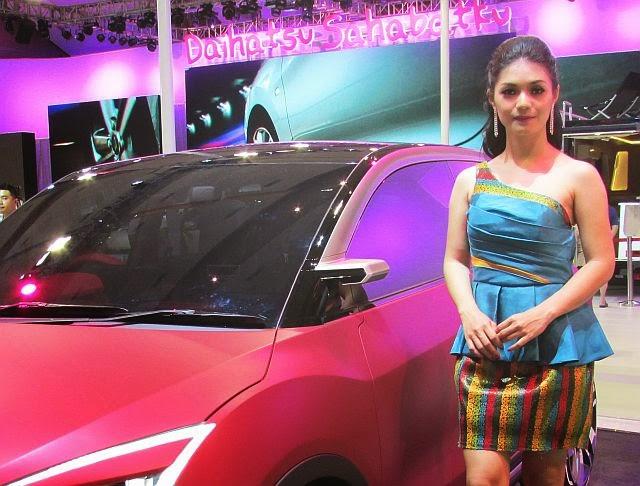 SPG Daihatsu CUV2 IIMS 2014
