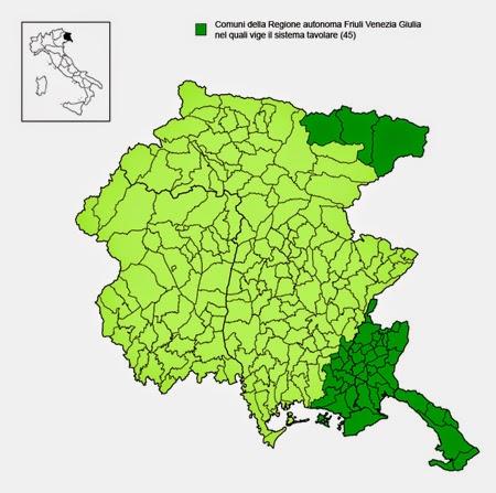 Liberamenteuropa notizie dalla mitteleuropa se a gorizia - Sistema catasto tavolare elenco comuni ...