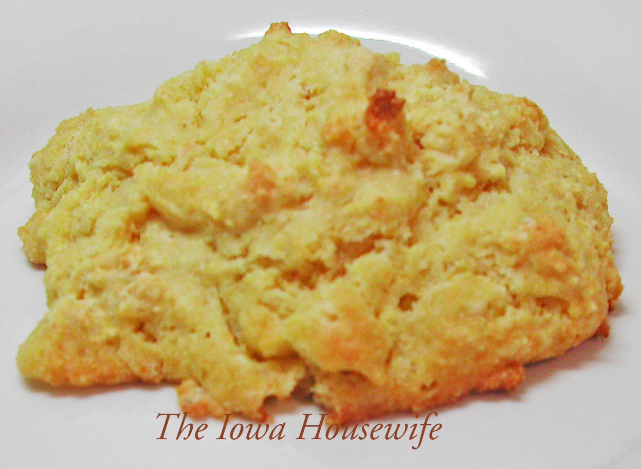 The Iowa Housewife: Cornmeal Biscuits