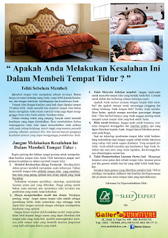 Tips Memilih Spring Bed