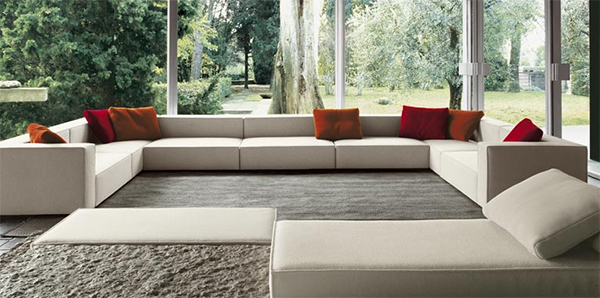 Sofas for the interior design of your living room house for Latest sofa designs for living room