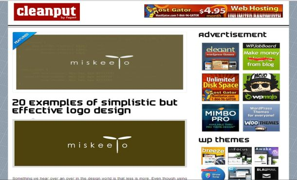 Business Portfolio WordPress Theme Design