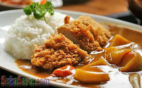 Resep Chicken Katsu Curry Ala Berry