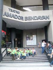 En el Teatro Amador Bendayán