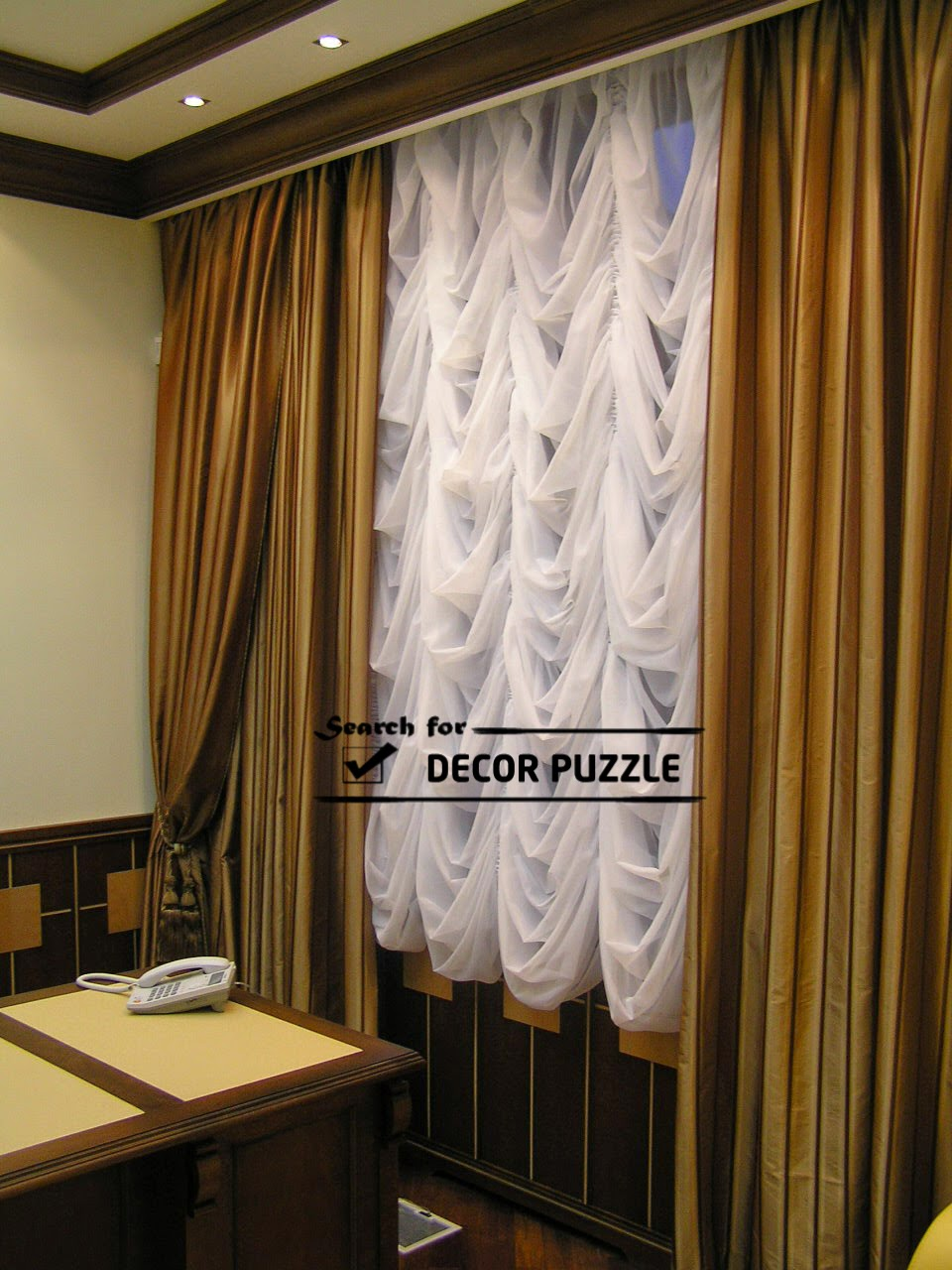 French Curtains Designs For Office
