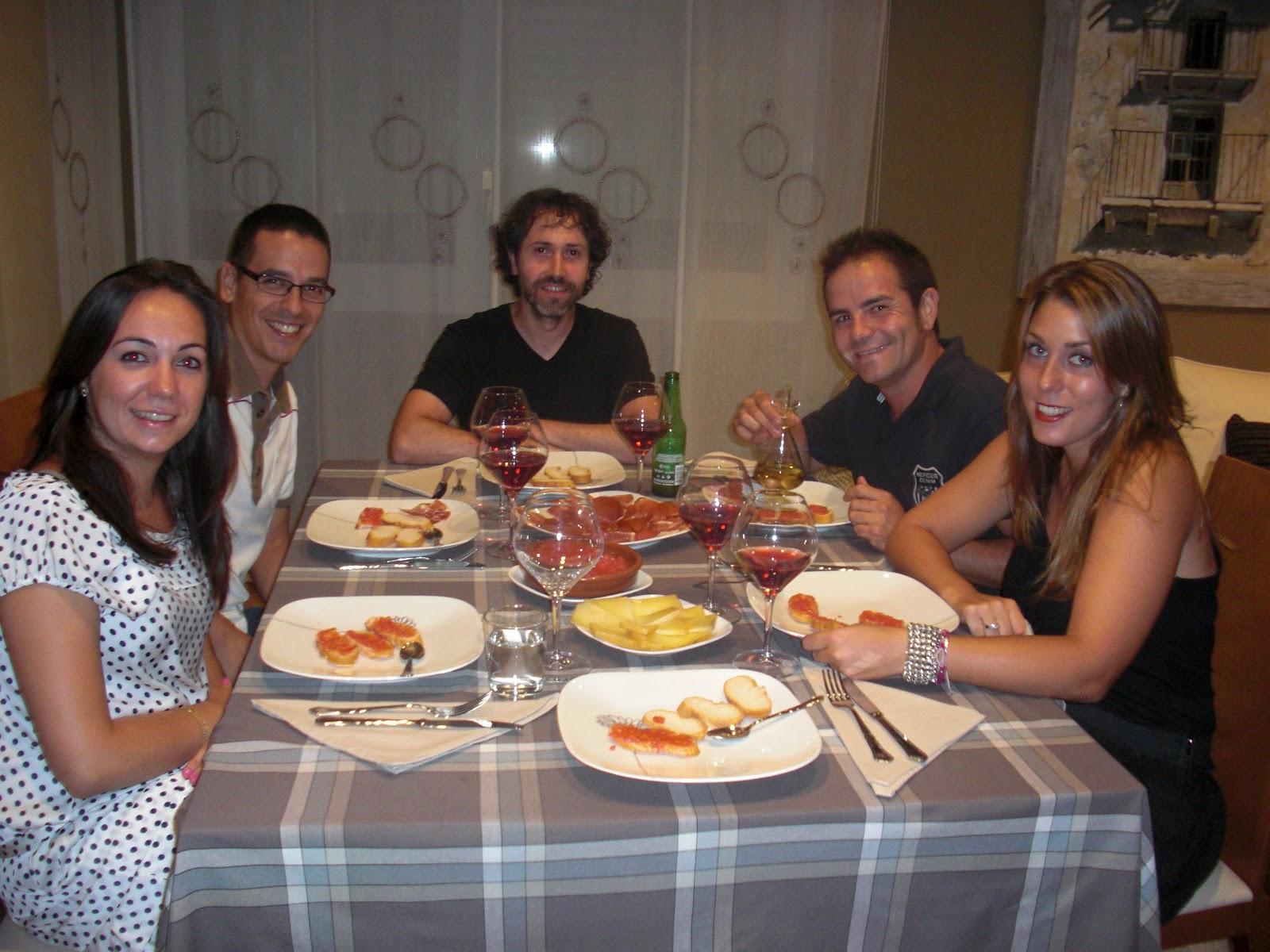 Mime ticos cena con amigos for Cena fria para amigos