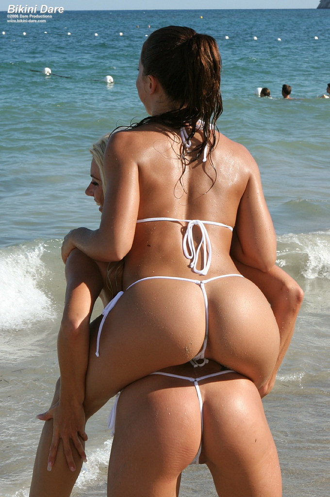 hot bikini thong girl