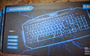 Bóc hộp bàn phím chơi game Newmen GL 800