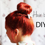 Hair Bun DIY