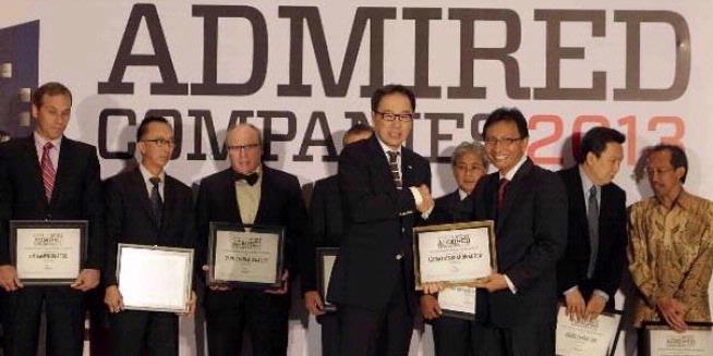 Perusahaan Paling Dikagumi Di Indonesia 2013