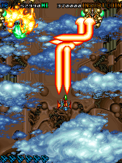 Dogyunn!! arcade videojuego portable descargar gratis bullet hell shoot'em up