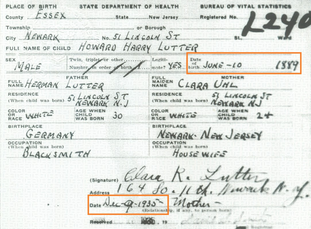 Family history research by jody divorce filing a delayed birth certificate especially in the mid to late 1930s is common because of the social security act while we should not necessarily read xflitez Gallery