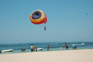 outdoor sports in bali, parasailing, jetski, water sports in bali
