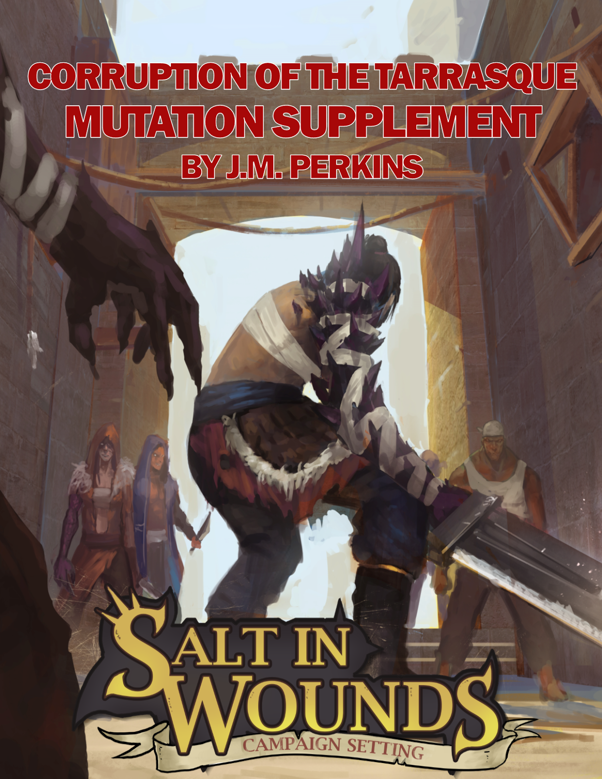 buy Tarrasque dnd dungeons and tragons mutation supplement about the tarrasque