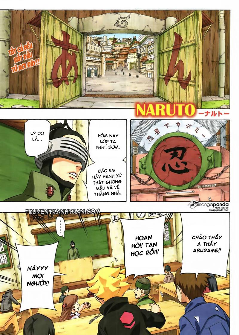 Naruto Chap 700 - Trang 1