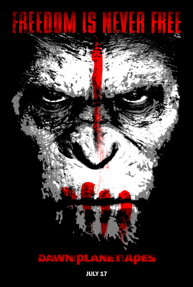 Dawn of the planet of the apes Dawn of the Planet of the Apes Watch Online Free Free Online 620x919 Movie-index.com
