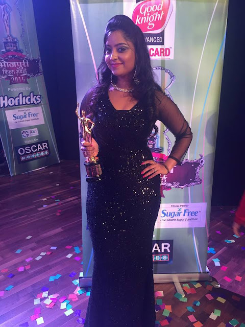 Subhi Sharma at Bhojpuri Film Awards 2015