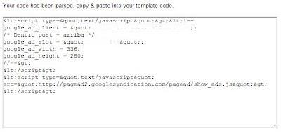 código convertido compatible con blogger