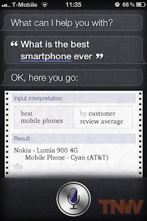 lumia 900 best smartphone siri