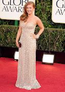 Isla Fisher in REEM ACRA dress. Hayden Panettiere in ROBERTO CAVALLI dress